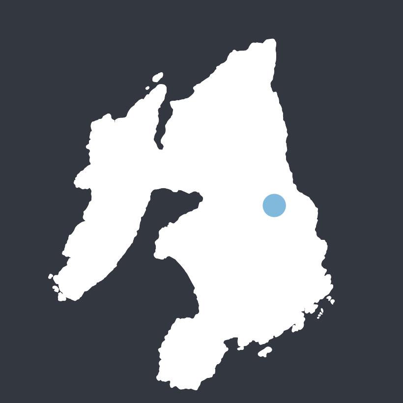 Airigh Ghuaidhre map