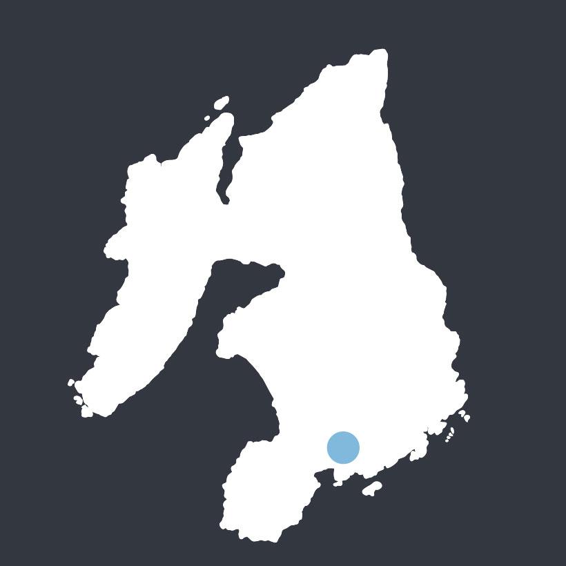 Cill Tobar Lasrach map
