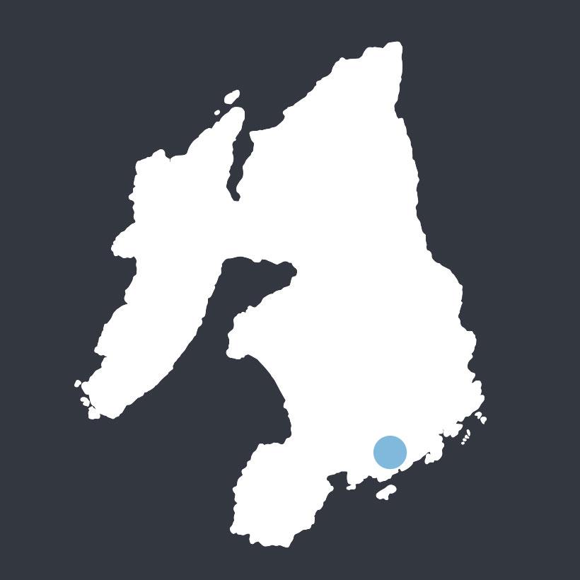 Cnoc an Altair map
