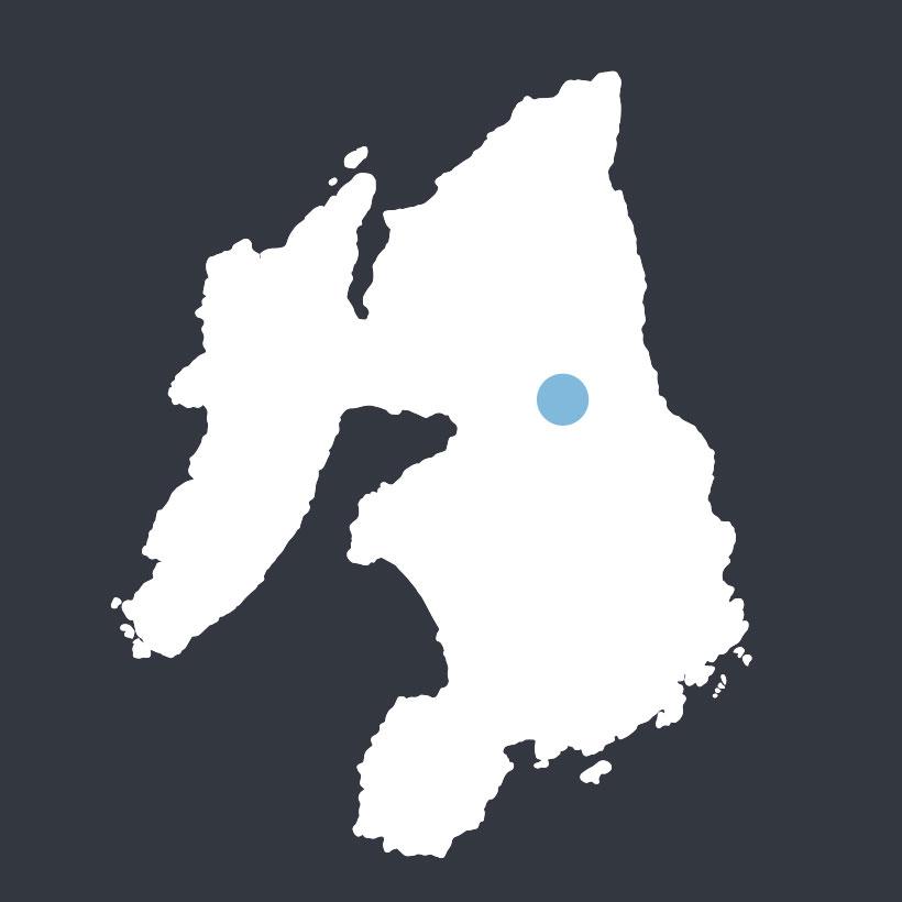 Dun Guaidhre map