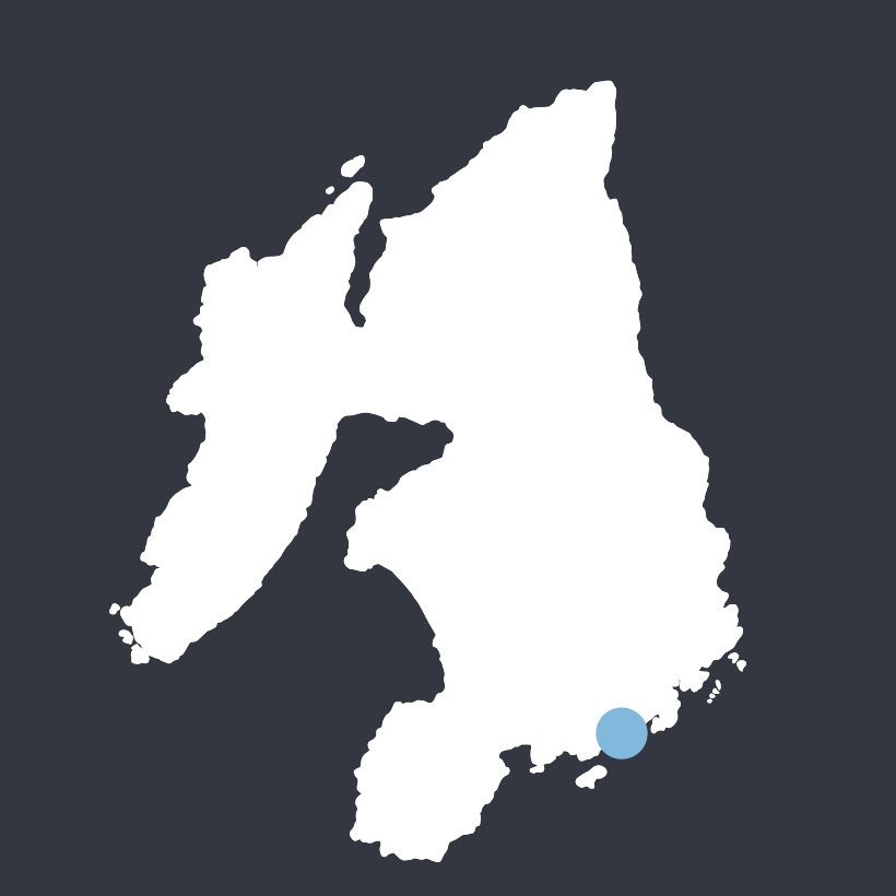 Dunyvaig map