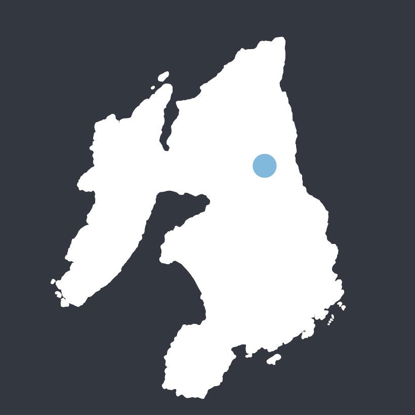 Finlaggan map