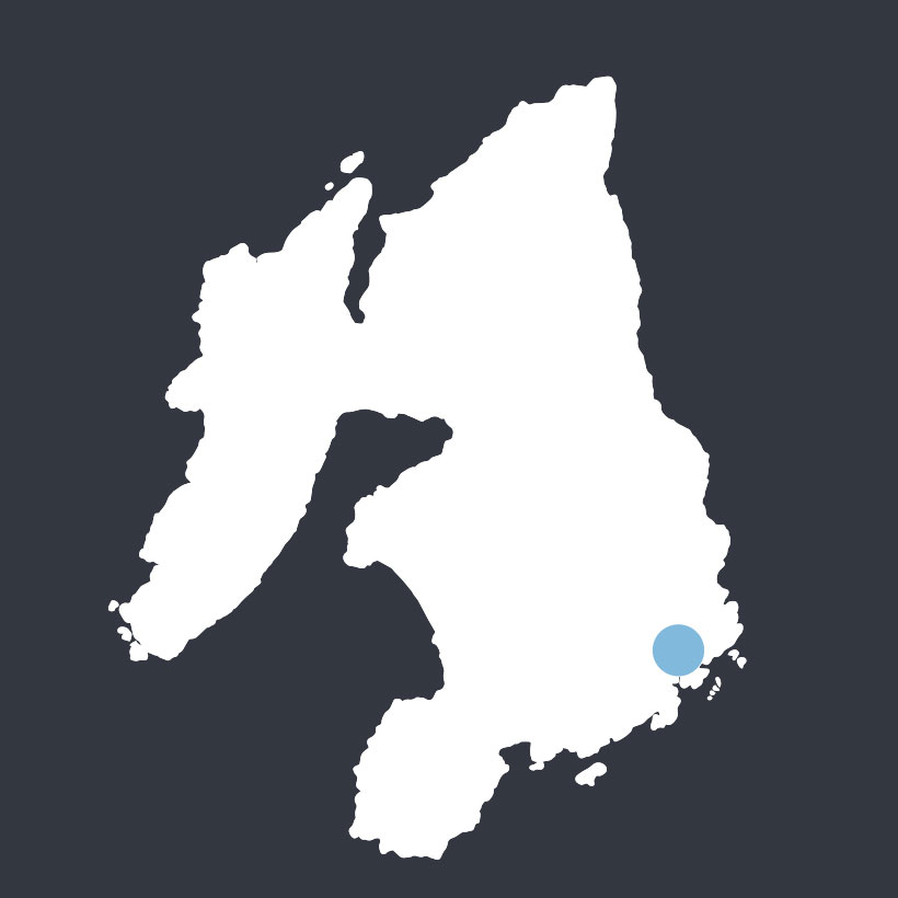 Kildalton Cross map