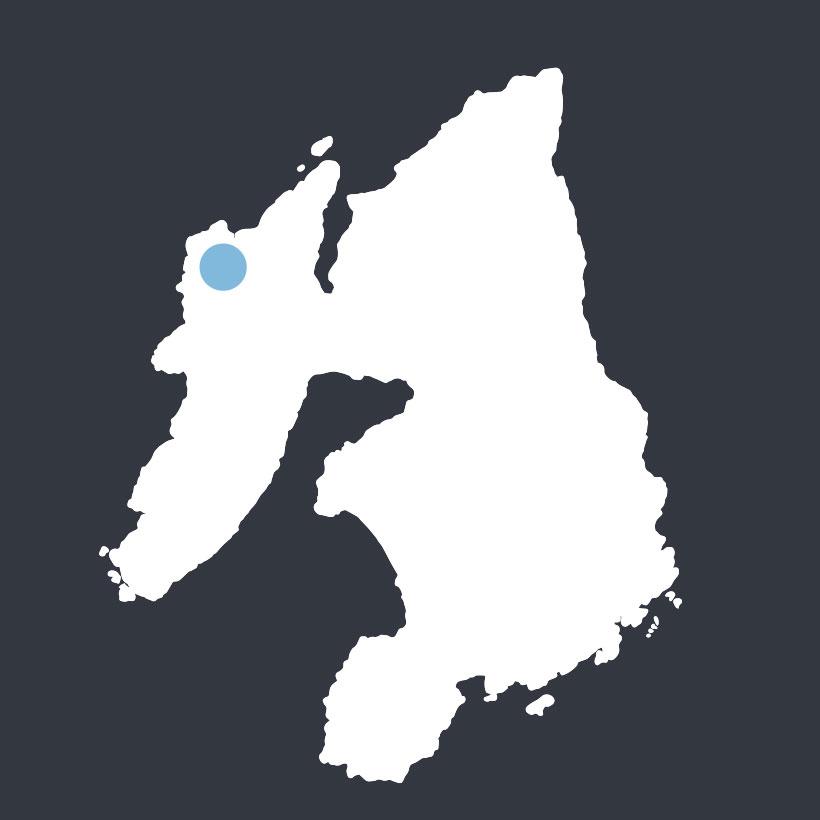 Loch Corr map