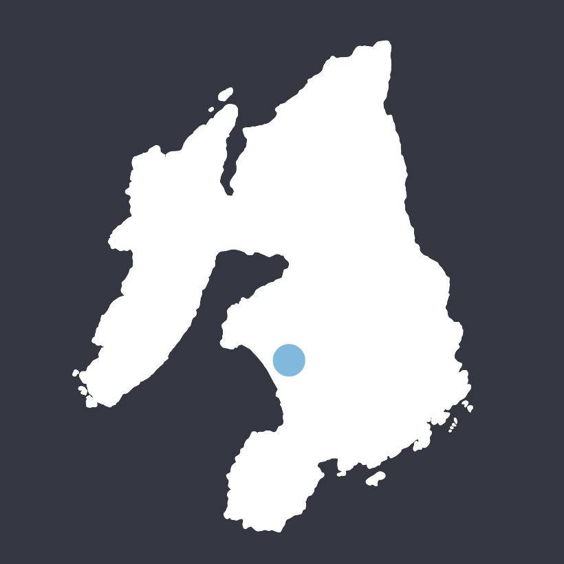 Machrie Loch map