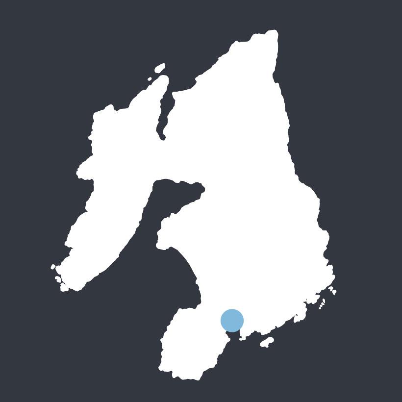 Port Ellen map