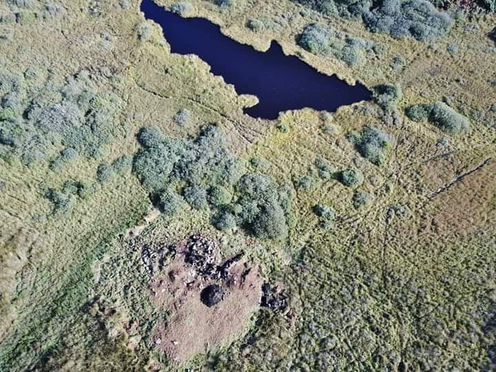 Loch nan Daela Drone Photo