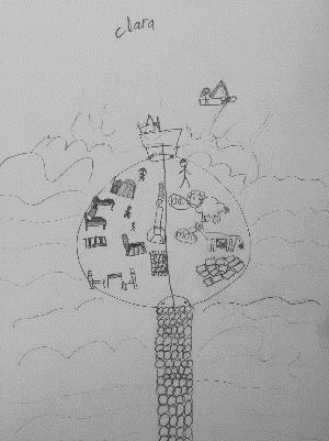 Loch nan Daela School Drawing 3